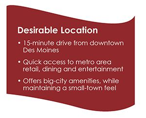 desirable location