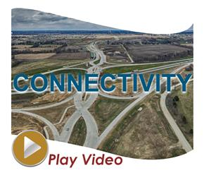Connectivity pic with text and video