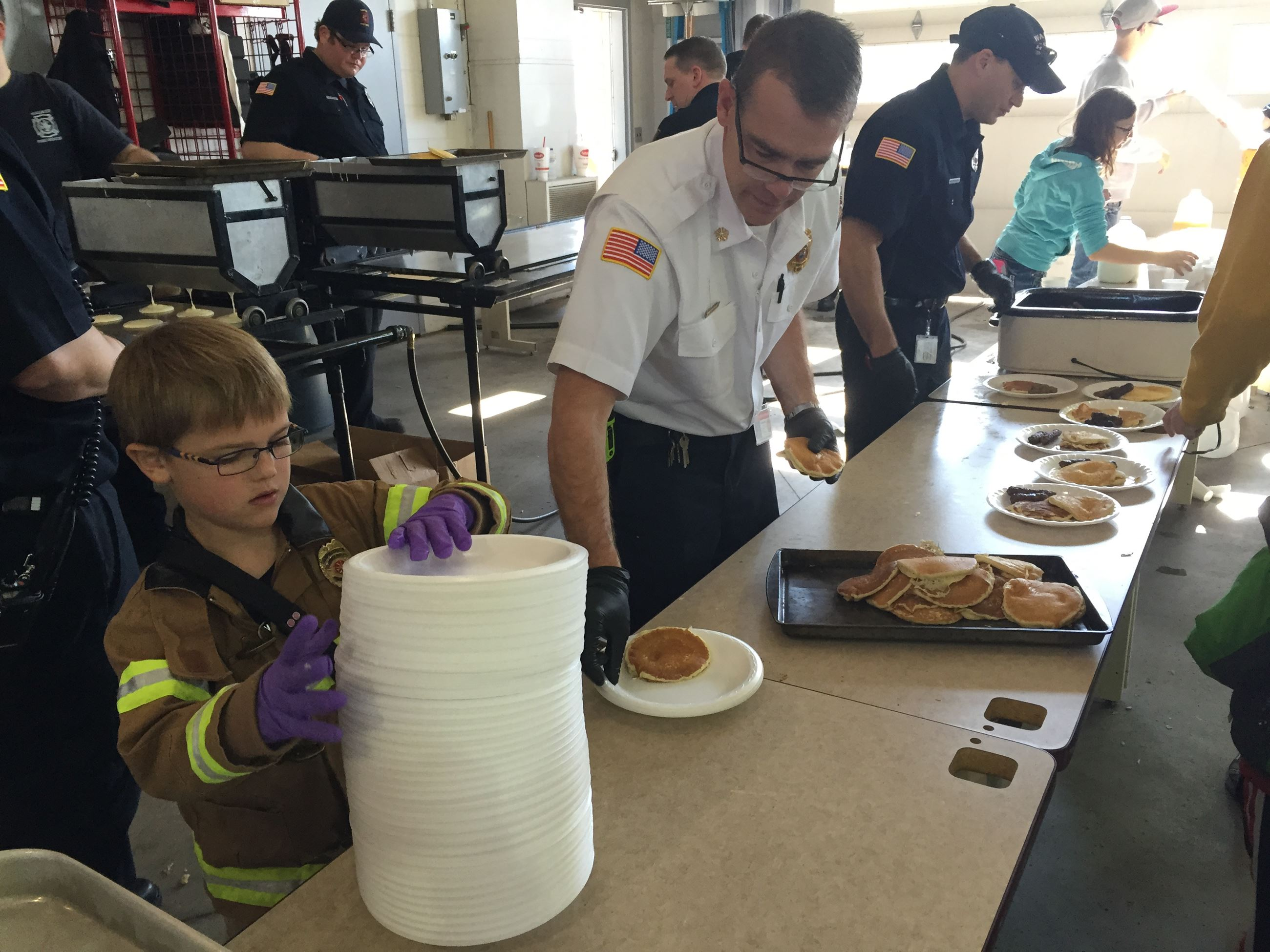 Fire pancake breakfast 2016