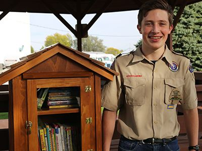 boy scout library