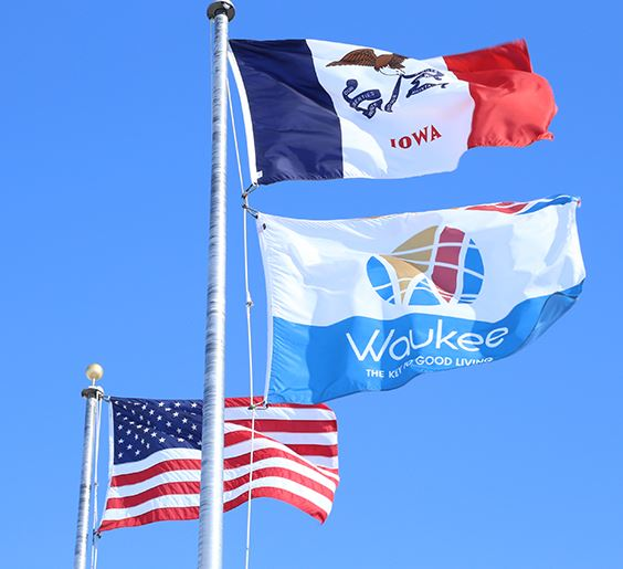 waukee flags