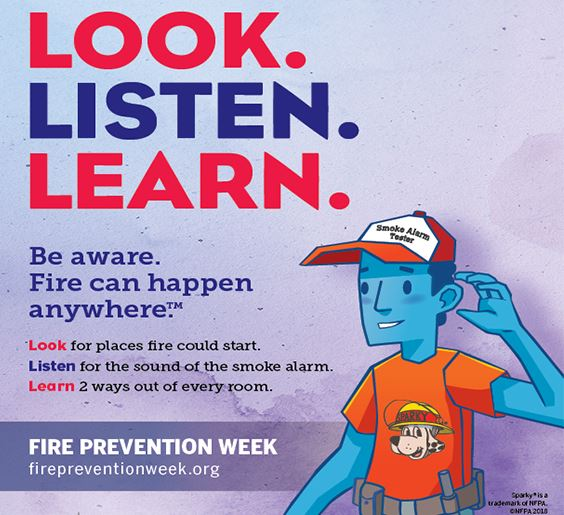 fire prevent week web