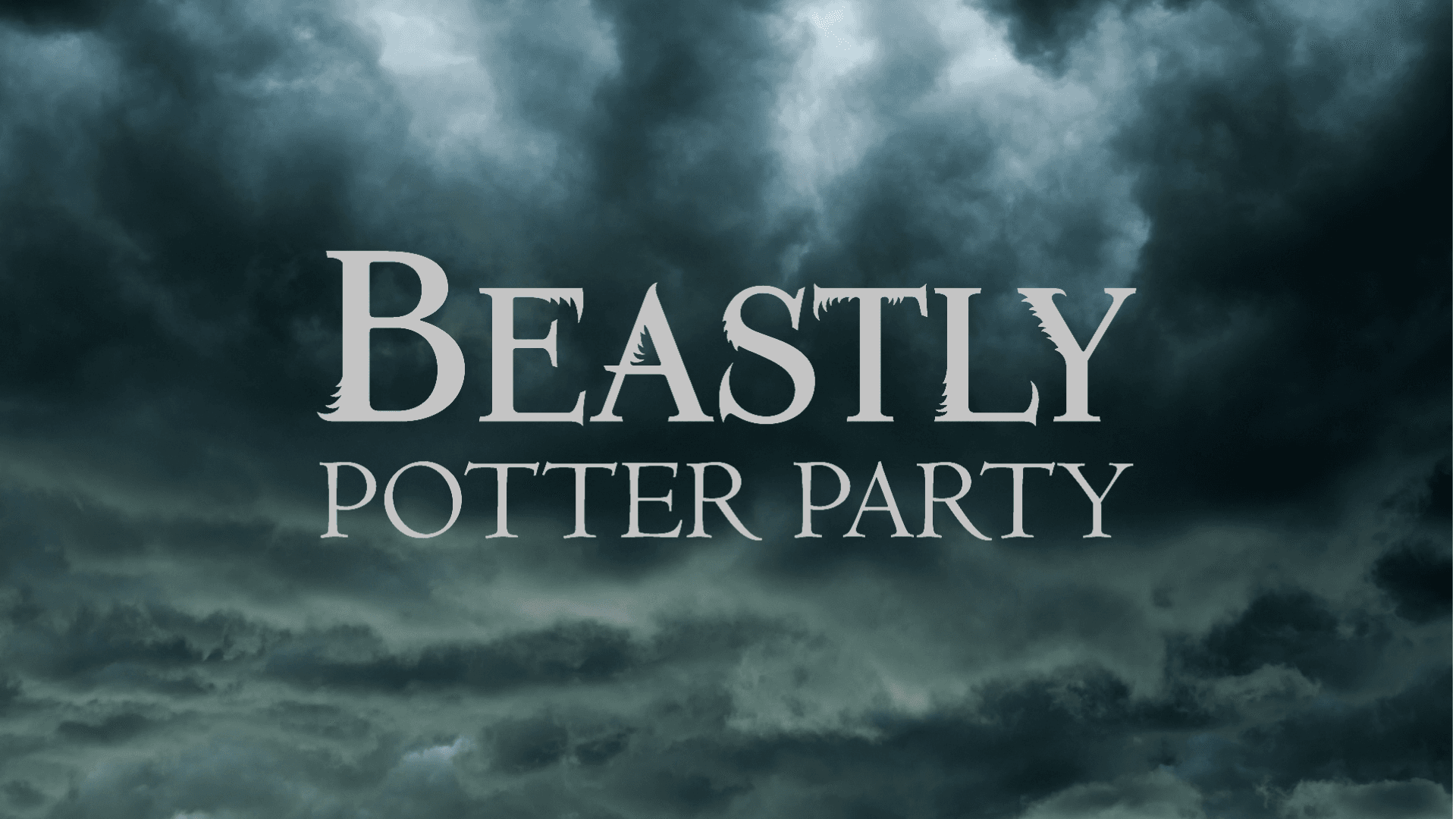 Beastly Potter Party