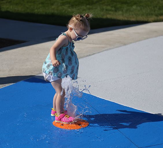 splash pad sept 19