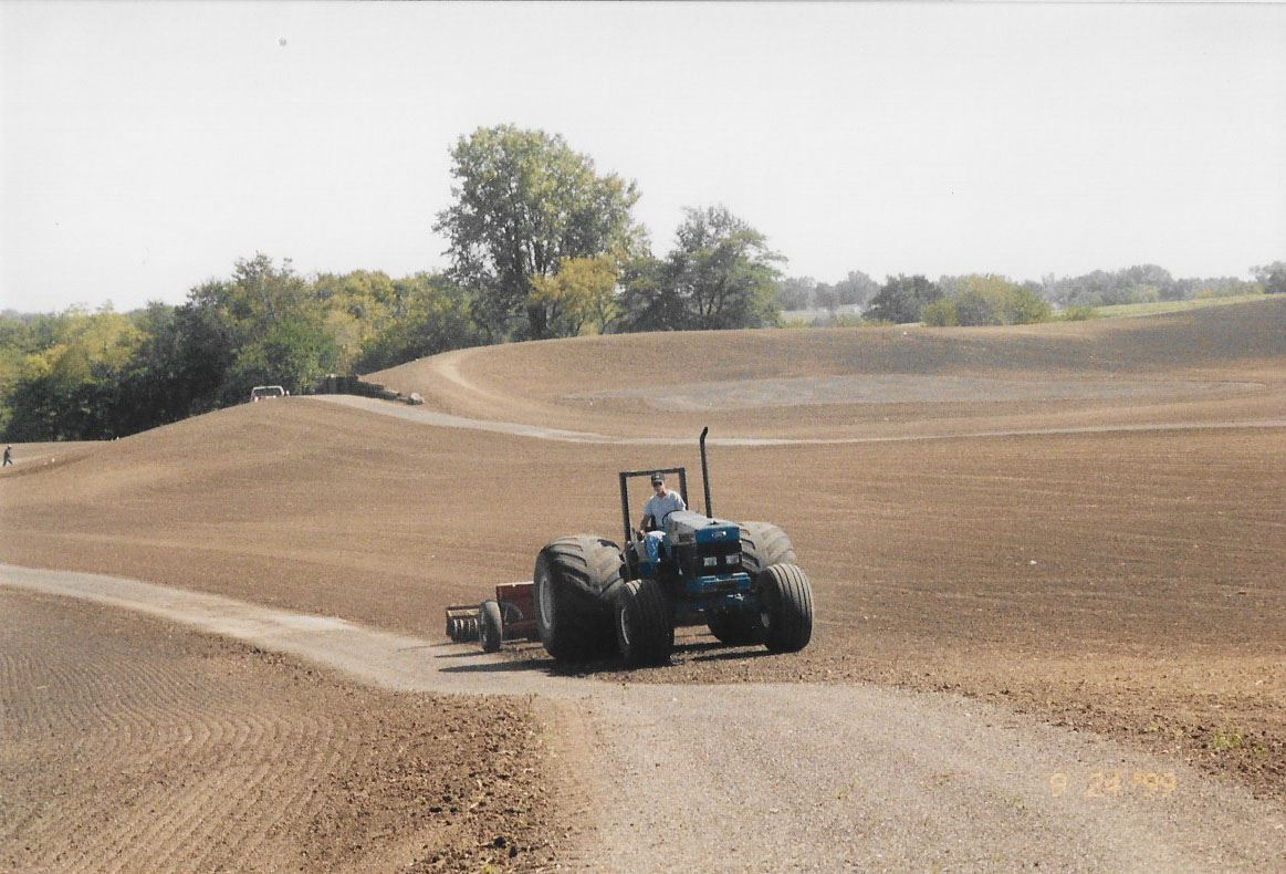 Golf Course Construction 1999-1