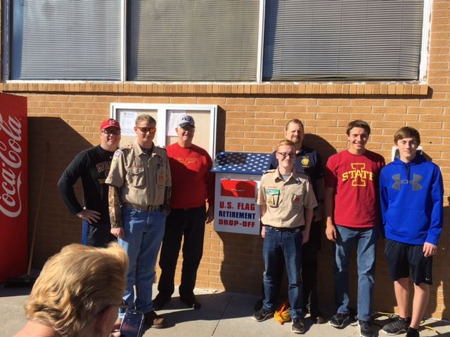 Eagle Scout Flag Drop Box Project